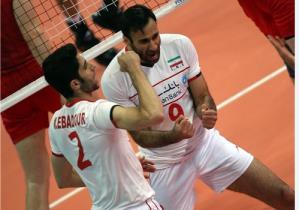 طلسم روسها در روز تاریخی والیبال ایران شکست