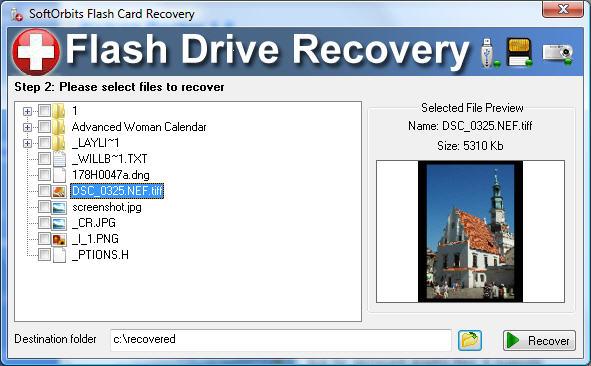 دانلود SoftOrbits Flash Drive Recovery 2.0 نرم افزار بازیابی اطلاعات از درایوهای فلش