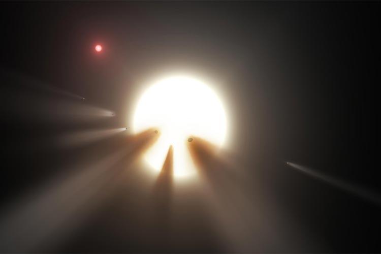 رد حیات فرازمینی ها در اطراف ستاره اسرار آمیز
